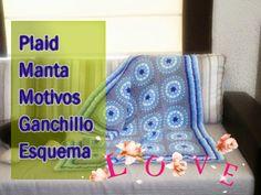Mis Pasatiempos  Amo el Crochet: Manta de ganchillo