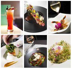Plats élaborés par le Chef Arnaud Tabarec au restaurant Sea Sens au sein du Five Hotel & Spa à Cannes  http://becuriousbydiana.com/2015/01/27/le-sea-sens/