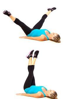 pulsing leg lifts