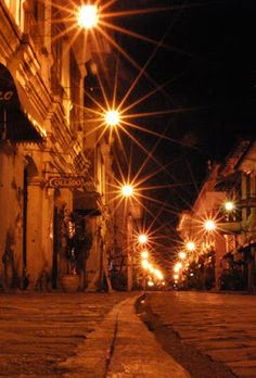 Vigan is a city in the Philippines, on the west coast of Luzon island. It's known for its preserved Spanish colonial and Asian architecture. Philippine Architecture, Asian Architecture, Places To Travel, Places To Visit, Fountain Lights, Old Street, Street Food, Ilocos, Philippines Culture