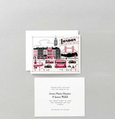 Visit London Save the Date Card