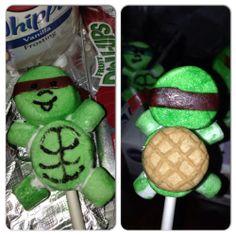 Ninja Turtle Cake Pops For Sale