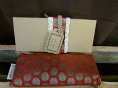 A perfect gift for Valentine's Day! Lavender eye pillow with Indian silk cover  by KusalaGifts on Etsy