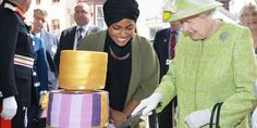 Great British Bake Off winner Nadiya Hussain baked the Queen a marmalade drizzle cake to celebrate her 90th birthday.