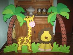 decoracion selva - Buscar con Google
