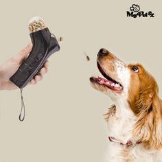 Lanzador de Comida para Mascotas Click & Treat