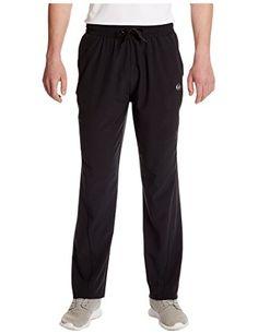Ultrasport Pantalon de yoga fitness avancé Jivan pour hommes avec  bi-stretch Noir XL 606a7be443c