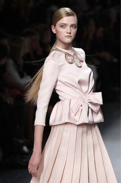 Vlada Roslyakova at Dior RTW Fall 2012, March 2nd.