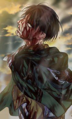 Best Attack On Titan - Anime, Cartoon Attack On Titan Levi, Levi X Eren, Armin, Mikasa, Passe Psycho, Anime Guys, Manga Anime, Humanoid Creatures, Captain Levi