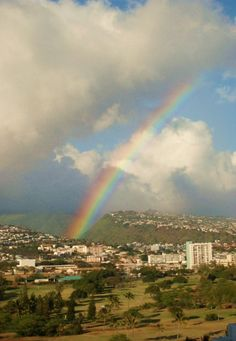 #Hawaii rainbow<3