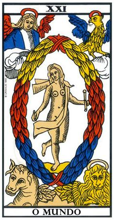 World Tarot card meaning: second view Daily Tarot Reading, Free Tarot Reading, The World Tarot Card, Le Bateleur, Le Tarot, Love Astrology, Tarot Card Meanings, Gods And Goddesses, Archetypes