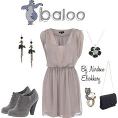 """""""Baloo"""" by nardeenelsokkary on Polyvore"""