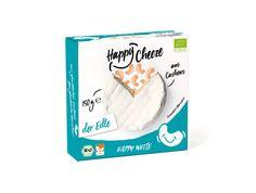 Happy White de Happy Cheese est une alternative vegan au camembert à base de noix de cajou. Elle est principalement composée de noix de cajou fermentées issues de fermes biologiques certifies, et est fabriquée en Allemagne. Cette alternative au fromage est délicieuse et authentique ainsi que sans produits d'origine animale, conservateurs et stabilisants.  La fermentation à base de culture bactérienne rend ce substitut de fromage sans lait incroyablement fondant et délicieux.    ATTENTION…