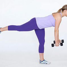 Single-Leg Deadlift - Fitnessmagazine.com