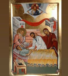 H/T: The Saint Gregory Palamas Outreach O Lord Jesus Christ our God, Lover of Mankind, Physician of our souls and bodies, who didst . Orthodox Prayers, Orthodox Christianity, Saint Gregory, Byzantine Icons, Orthodox Icons, Religious Art, Religious Icons, Sacred Art, Catholic