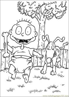 Free Printable Rugrats Coloring Pages Everything Rugrats And All