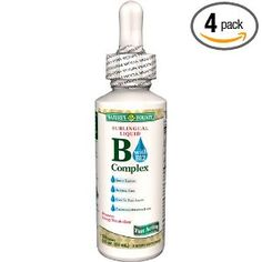 Nature's Bounty Vitamin B Complex Sublingual Liquid - appropriate B-complex supplement for pre and post bariatric surgery