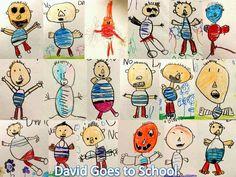 Let's draw David.