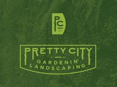 Pretty City / logomarks designed by M. Frances Foster