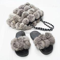 £44.00 #fur #ootd #pompom #bag #slides #furslippers #slippers #shoe #furshoe #furbag #womenswear #womenfashion #womenstyle #womenoutfit #outfit #outwear #accessory #fashionitem #fashionaccessory #girlsfashion #girlstyle #love #new #handmade #boutique Fur Bag, Fur Pom Pom, Rabbit Fur, Slippers, Ootd, Shoe, Boutique, Luxury, Outfit