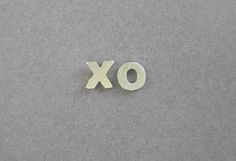 Silver Earrings - XO Studs - Hugs and Kisses - Hand Cut - Valentine's Day. $29.00, via Etsy.