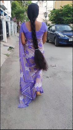 Beautiful Girl Indian, Beautiful Indian Actress, Beautiful Women, Indian Long Hair Braid, Braids For Long Hair, Indian Hairstyles, Bun Hairstyles, Actress Priyanka, Tamil Girls