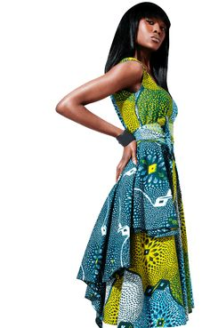 African Print Cloth and Dress Ideas!