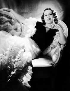 Norma Shearer by George Hurrell, early-1930s..