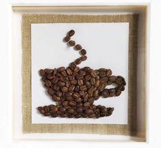 Coffee art Coffee Art, Frame, Home Decor, Picture Frame, Decoration Home, Room Decor, Frames, Interior Design, Latte Art