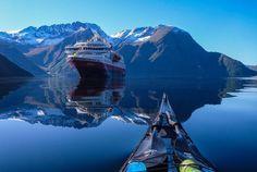 カヤッカー視点で観るノルウェーフィヨルドの旅【風景画像】 (2)