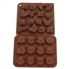 Zicome Silicone Animal Insect Chocolate Candy Making Mold Ice Cube Tray Set of 2 * You can find more details by visiting the image link.(This is an Amazon affiliate link and I receive a commission for the sales)