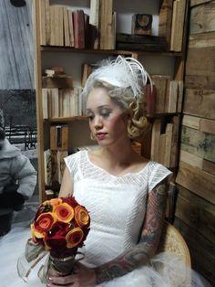 DixiePinUp.com  Dixie Pin-Up fascinators and bridal veils