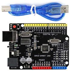 Improved version of Arduino board with USB cable, Driver chip CH340G, 5V / 3.3V Compatible. Find the cool gadgets at a incredibly low price with worldwide free shipping here. OPEN-SMART UNO ATMEGA168P Development Board for Arduino UNO R3, Boards & Shields, . Tags: #Electrical #Tools #Arduino #SCM #Supplies #Boards #Shields