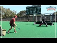 Goalkeeping Drills for Field Hockey - YouTube
