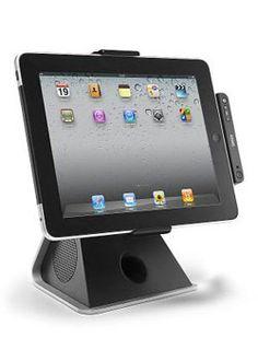 Support Enceinte Lenco Pour I-Pad 1-2-3 / Gammes I-Phone, I-Pod  I-Pod Touch