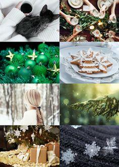 Winter Holidays Aesthetic: Slytherin House ( Gryffindor | Hufflepuff | Ravenclaw )