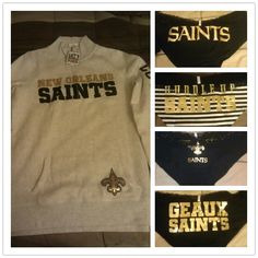 My gear just came!! #Saints #WhoDat #NFL #VS