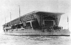 HMS Furious in 1925. U.S. Naval Historical Center photo