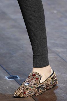 c1b4e21b23d DÉFILÉS PRÊT-À-PORTER AUTOMNE-HIVER 2014-2015 Dolce   Gabbana Chaussure