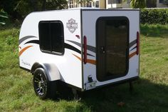 SignaTour Campers builds teardrop trailers and micro RVs by hand in Tampa, Florida. Their line of tiny camping travel trailers includes. Small Rv Campers, Small Camping Trailer, Tiny Camper, Small Trailer, Camper Van, Tiny Trailers, Camper Trailers, Travel Trailers, Teardrop Camping