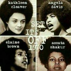 Afro's in our past activisim