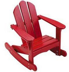 Little Colorado Child's Sunroom Adirondack Rocking Chair
