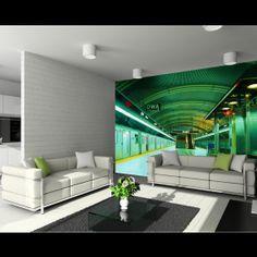 Subway fotobehang bij Behangwebshop