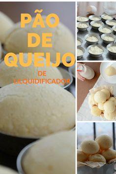 Como fazer pão de queijo no liquidificador
