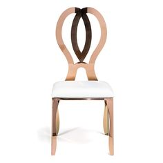 Valentina Rose Gold Chair on Rent for Special Events & Parties in NYC