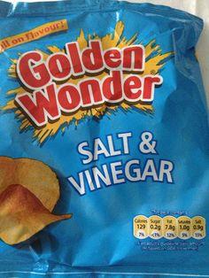 Salt & Vinegar crisps (Golden Wonder)