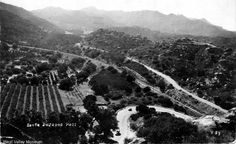 View of the Santa Susana Pass and Chatsworth. The postmark is dated May 7, 1941. West Valley Museum. San Fernando Valley History Digital Library/