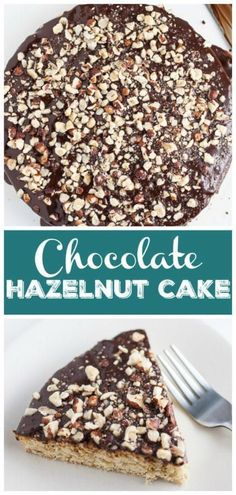 This Italian Chocolate Hazelnut Cake recipe is an easy homemade dessert. It's made with Frangelico liqueur, coffee, and drizzled with chocolate ganache! Chocolate Hazelnut Cake, Italian Chocolate, Homemade Chocolate, Chocolate Recipes, Chocolate Cakes, Valentine Desserts, Party Desserts, No Bake Desserts, Cake Recipes