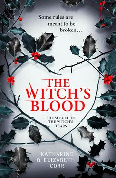 Book cover for The Witch's Blood, designed by Lisa Brewster of Blacksheep Design