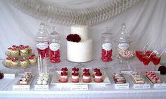 valentines dessert table | Flickr - Photo Sharing!